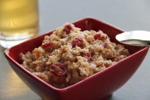 whole grain oatmeal