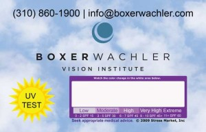 BW UV Card Meter
