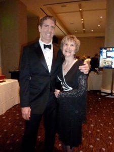 My mom and me at Vision Awards